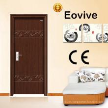 puerta de habitación de hotel de madera MDF