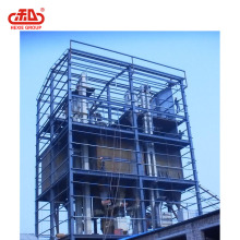 Large capacity floating fish feed production mill