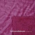 Zebra-geprägte Micromink-Decke mit farblich abgestimmter Sherpa-Rückseite
