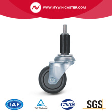 Round Expander Swivel TPE Institutional Caster