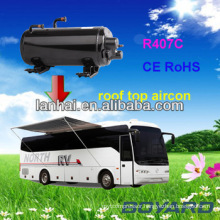 CE RoHS Auto Air Conditioning Horizontal Rotary Compressor for RV Caravan Air Conditioning portable mini tent air conditioner