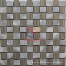 Weave Shape Aluminium Mix Ceramic Mosaic Tiles (CFA76)