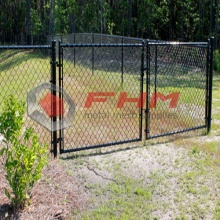 Chain Link Fence Gate för Frame Walk