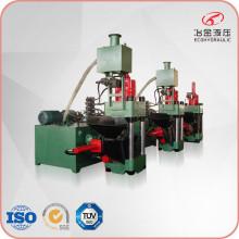 Ökohydraulische Brikettmaschine aus Gusseisen mit Metallchips