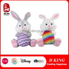 Conejito de Pascua Decoración Regalo suave peluche de peluche de animales de juguete