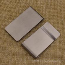 Heißer Verkaufs-Art- und Weisegewohnheit Metall-unbelegter Geld-Klipp