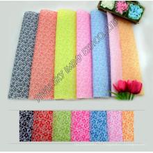 Largeur de tissu de microfibre imprimée de polyester de haute qualité de stock 100% pour Hometextile