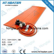 Elemento de aquecimento de borracha de silicone flexível