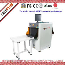 Secuplus small parcel X ray inspection system for hospital, hotel