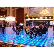 scène en verre modulaire avec des lumières fabriquées en Chine