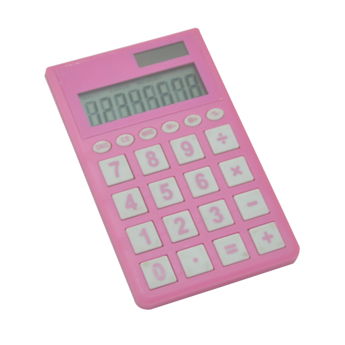 Cute Pink Pocket Calculator