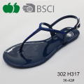Ladies New Arrival Summer Fashion Durable Pvc Sandals