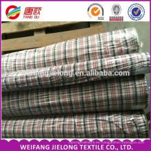 Fashion Dresses Textile Fabric High Quality 100% Cotton Yarn Dyed Shirting Fabric 100% cotton mens stripe plaid yarn dyed shirt