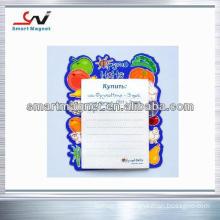 copper paper customized promotional cheap fridge magnet