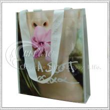 Bolso de compras no tejido de Eco Lamination (KG-NB016)