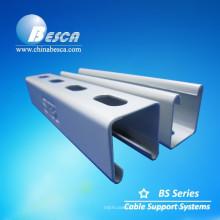 Sistema de suporte do canal do suporte.