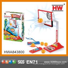 Interesting kid basketball shooting game mini pinball machine