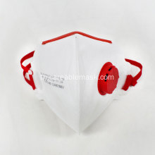 FFP3 Safety Folding Mask พร้อมวาล์ว CE Approved