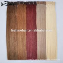 La fábrica grande distribuye el pelo humano rizado dibujado doble de la trama del pelo de los extremos rizados de Remy