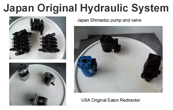 Japan Shimadzu valve & pump