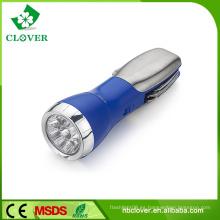 Deluxe todo en uno multi herramienta 9 LED +1 rojo LED potente mini linterna
