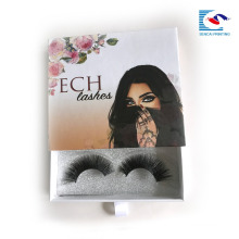 Custom False EyeLash packaging Lash paper packaging box supplier drawer box