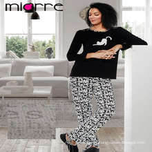 Miorre OEM NEW 2017 COLLECTION WOMEN'S CUTE ANIMAL PRINTED PAJAMAS SET
