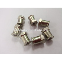 Stainless steel nonstandard nut, nonstandard nut with hex cone point