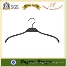 High Quality No-slip Black Rubber Coated Hanger