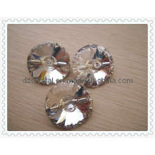 Grano cristalino ropa botón (DZ-botón-001)