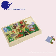 Custom Educational Children Wooden Puzzle Toy