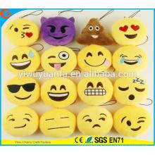 Hot Selling High Quality Novelty Design Emotion Plush Emoji Pillow