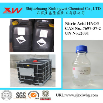 Nitric Acid 68% Étiquette
