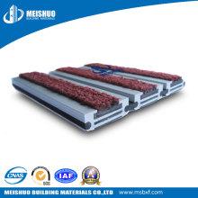 Tapetes de piso embutidos resistentes a poeira para aeroporto