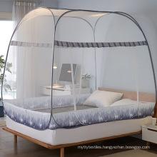Custo logo cartoon Luxury  Folding Foldable Fold princess Solid Mosquito Net  Nets For Bed
