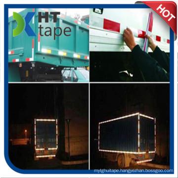 15cm Width Hazard Warning Pressure Sensitive Type Retro PVC Reflective Tape, High Visibility Grade Reflective Film
