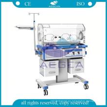 Precio médico de la incubadora del bebé del cuidado del bebé del hospital de AG-IIR003A CE