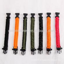 Rover Kamel Outdoor-reflektierende Seil Lanyard lebensrettende Notfall Survival Armband Arbeit 9-Kerne Armband
