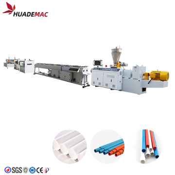 Double out PVC plastic pipe making machine