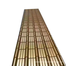 Tianjin Bao Steel color coated cheap metal zinc clear corrugated roof sheets