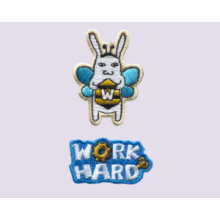 Work Hard-Embroidered Sticker Pack