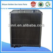 Mejor precio del tubo de aleta de cobre radiador en China