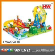 New Design 48PCS B/O The Ferris Wheel Park Railway Set Toy