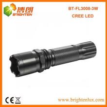 Заводская распродажа CE High Power Aluminium Лучший американский CREE привело 3watt Многофункциональный 1101 полиции привели факел фонарик свет