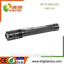Factory Wholesale Best Bright Aluminum Material 3w Cree XML 2 * AA Emergency Protable torche à haute puissance avec cilp