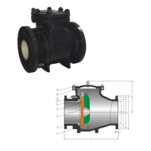 Ceramic Swing Check valve