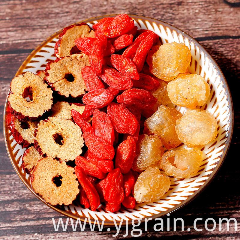 Red date longan medlar tea