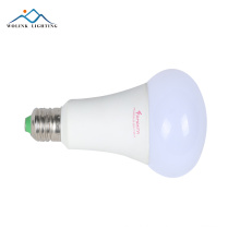 hot sale 9w e27 mushroom led light bulb for housing emergency lighting