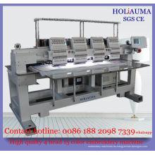 4 cabeza de máquina de bordar de alta velocidad computadora de Dahao / Multi cabeza de máquina de bordar de Multi función