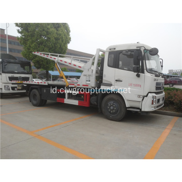 Dongfeng 4x2 flatbed road wrecker di Afrika